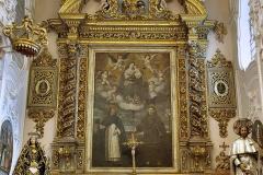Chiesa di S. Domenico, altare maggiore sec. XVII - Turi