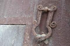 Battacchio dell'antica casa settecentesca - Turi