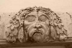 """""""Maschera apotropaico"""" centro storico Turi - Turi"""